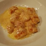 121032194 - マントヴァ産カボチャのニョッキ、コンテチーズのソース