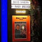 ブルーノート東京 - DAVID SANBORN with special guest RANDY BRECKER