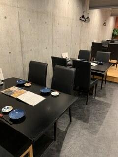 寿司ダイニングAYAMACHI - 内観写真