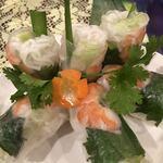 ベトナム料理専門店 サイゴン キムタン - ライスペーパーが美しさを演出