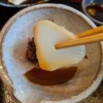 日本橋 伊勢定 - [料理] 大根 糠漬け アップ♪w