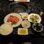 東京焼肉一頭や - 料理写真:松阪牛赤身御膳 2500円+Tax
