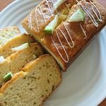 はちどり菓蔵 - 愛媛産有機無農薬 青レモンのパウンドケーキ