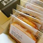 はちどり菓蔵 - スライス5枚BOX