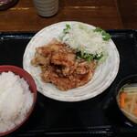 Ton - 鶏唐揚定食