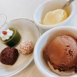 ロング テーブル - 【ランチバイキング】デザート一例
