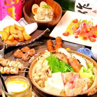 幹事の方必見!歓送迎会等ご宴会に最適な鍋料理