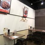 南蛮食堂 - ちょっぴりお洒落な店内。