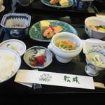 和食堂 松林 - ホテルハマツ宿泊時の和朝食!