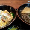 そば処 いながわ - 料理写真:カツ丼セット(そば)