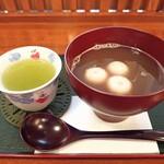 やすらぎ - 料理写真:おしるこ(お茶付き)