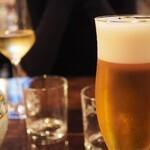 タランテッラ ダ ルイジ - ビール 600円(コース150円マイナス)