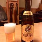 121077552 - 「エビスビール(中瓶)」@700(税込)