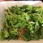 和伊わい亭 - 水菜と明太子のパスタ