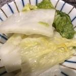 日向食堂 - 白菜柚香漬け