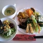cafe JAM - 前菜+サラダ+スープ