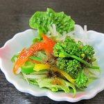 一柳鮨処 - サラダ