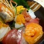 黒・紋 - 豪華丼 1,300円