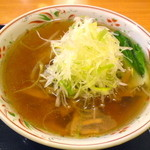らーめん処次男坊 - 次男坊ラーメン 細麺