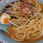 ラーメン山岡家 - G(ガツン)系特製もやし味噌ラーメンアップ