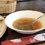 T's GARDEN - スープも野菜タップリ