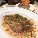オー バカナル - 豚スネ肉と白いお野菜のフリカッセ(本日のお肉料理ランチ)