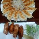 121086611 - 餃子15個、鶏皮餃子
