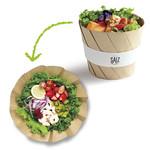 【全6種類】開くとサラダの花が咲く。インスタ映え間違いなしのおしゃれなサラダ!