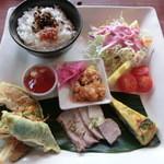カナンスローファーム カフェ&エコステイ - カナンプレート・1200円