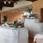 カナンスローファーム カフェ&エコステイ - キッチンカウンター