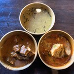 121093021 - カレーとスープ
