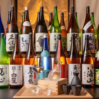 【新潟産日本酒】と、幅広いドリンク