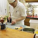 北海道料理ユック 北の海道 - 板前さん