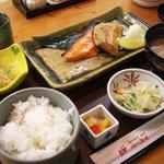 北海道料理ユック 北の海道 - 焼き魚2種盛り