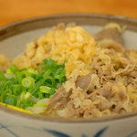 麺処 綿谷 - 温温肉ぶっかけ