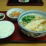 12110108 - 天ぷらうどん定食