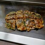 京祇園ねぎ焼 粉 - 料理写真: