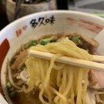 麺や 多久味 - 料理写真:かつお香味らぁめん  740円 +150円 餃子3個、小ごはん(ランチ限定)