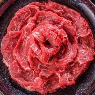 看板メニュー『ピースビーフ』は他にはない赤身肉!