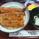 鳥かど家 - ランチ鰻丼1900円