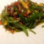 個室中華 頤和園 -         青椒肉絲