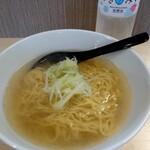 麺屋 かわはら - 鶏塩ラーメン 780円
