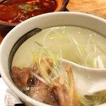 杜の都 太助 - テールスープ