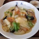 宝来 - 中華丼