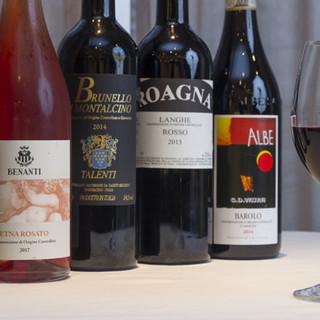 世界各地から選び抜かれた個性豊かなワインをご堪能ください。