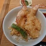 京ぜん - 海老天丼