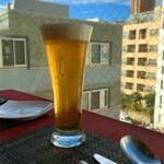 ル ポトローズ - 生ビール、幸せだなぁ