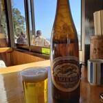 十一丁目茶屋 - 大瓶ビール