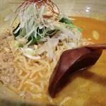担担 - 坦坦海老からセット:白胡麻坦坦麺