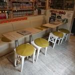クラスター - テーブル席